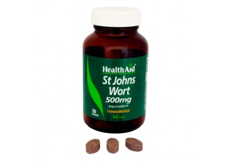 HealthAid St. John's Wort 500 mg 30 tabs