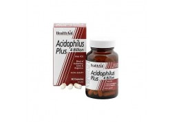 HealthAid Acidophilus Plus 4 Billion 60 caps