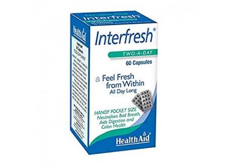 HealthAid Inter fresh Breath Fresh 60 caps