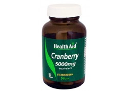 HealthAid Cranberry Extract 5000mg 60 tabs