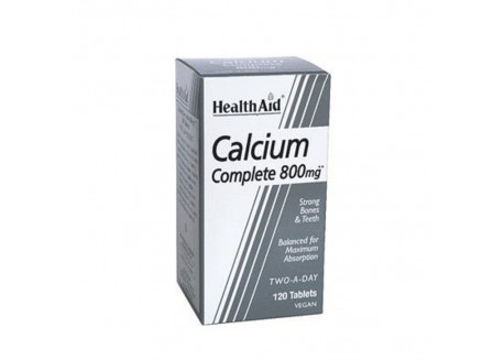 HealthAid Balanced Calcium Complete 800 mg 120 tabs