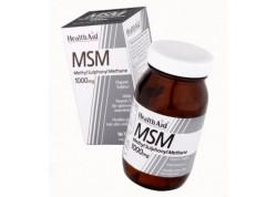 HealthAid MSM 1000 mg vegetarian 90 tabs