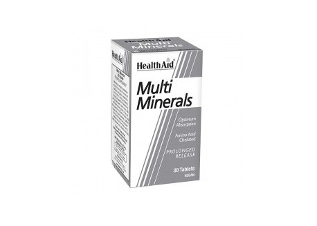 HealthAid Multimineral Prolonged Release 30 tabs
