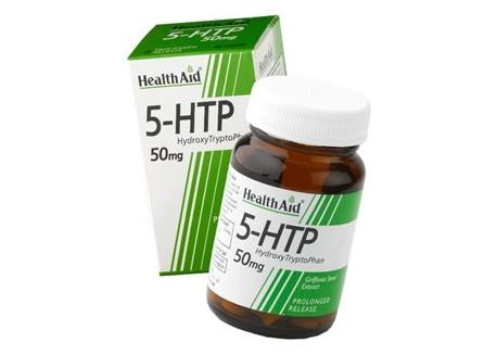 HealthAid L-5 Hydroxytryptophan 50 mg 60 tabs