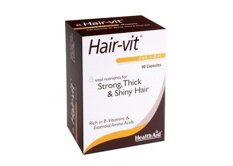 HealthAid HairVit - Economic 90 caps
