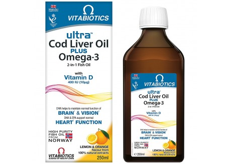 VITABIOTICS Cod Liver Oil 250 ml