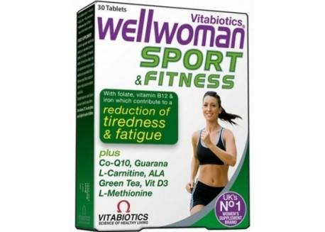 VITABIOTICS Wellwoman Sport&Fitness 30 tabs