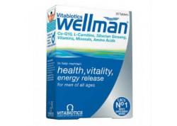 VITABIOTICS Wellman 30 tabs