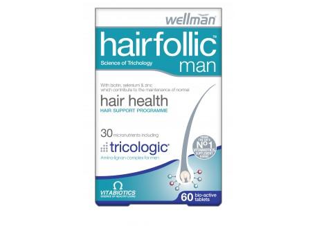 VITABIOTICS Wellman Hairfollic 60 tabs