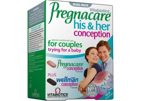 Vitabiotics Pregnacare His and Hers 30 tabs / 30 tabs