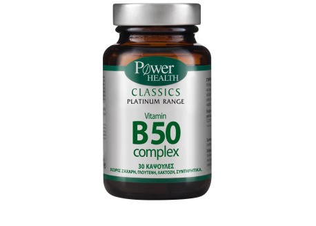Power Health Platinum Vitamin B 50 Complex 30 caps