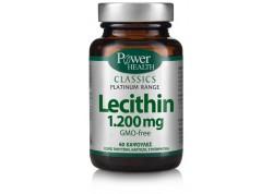 Power Health Platinum Lecithin 1200 60 κάψουλες