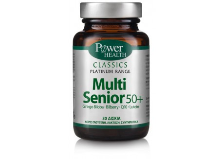 Power Health Platinum Multi Senior 50+ 30 κάψουλες