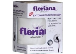Power Health Fleriana Εντομοαπωθητικό κερί 130 gr