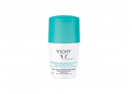 Vichy Deo Roll-on για έντονη εφίδρωση με πράσινο καπάκι 50 ml