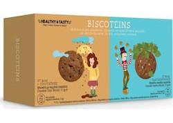 Power Health Healthy & Tasty Biscoteins Κομ.Σοκολάτας/Φουντούκι