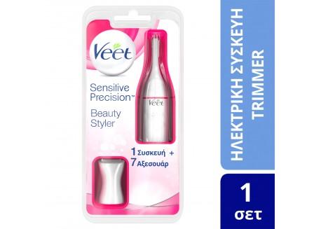 Veet Sensitive Precision Beauty Styler 1 συσκευή + 7 αξεσουάρ