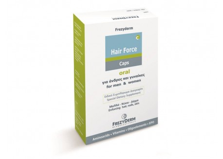 Frezyderm Hair Force caps 60