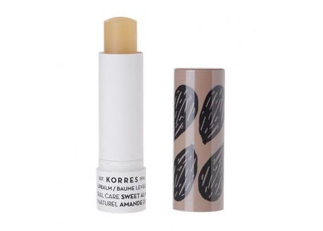 Κορρες Lip Balm με Αμυγδαλέλαιο για φροντίδα & θρέψη 5 ml