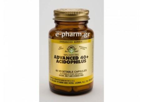 Solgar Advanced 40+ Acidophilus veg.caps 60s