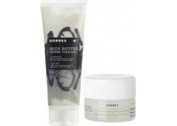 Κορρες greek yogurt collection μάσκα ύπνου 40ml & body butter 23