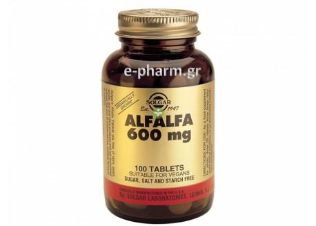 Solgar Alfalfa 600 mg tabs 100s
