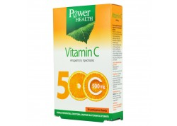 POWER HEALTH Vitamin C 500 mg 36 μασώμενα δισκία