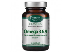 POWER HEALTH Platinum Omega 3.6.9 30 κάψουλες