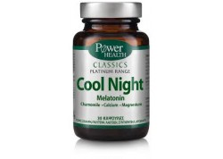Power Health Platinum Cool Night 30 δισκία