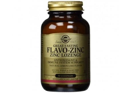 Solgar Flavo-Zinc 23 mg lozenges 50s