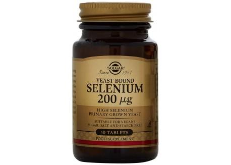 Solgar Selenium 200 μg tabs  50s