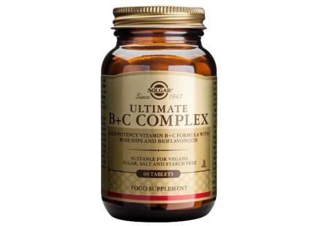 Solgar Ultimate B+C Complex tabs 30s