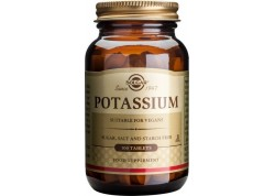 Solgar Potassium Gluconate 99 mg  tabs 100s
