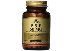Solgar Pyridoxal-5-Phosphate (P-5-P) 50 mg tabs 50s