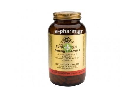 Solgar ESTER-C 500 mg veg. caps 250s