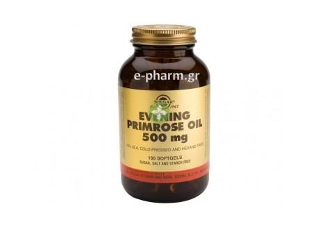 Solgar Evening Primrose Oil 500 mg softgels 180s