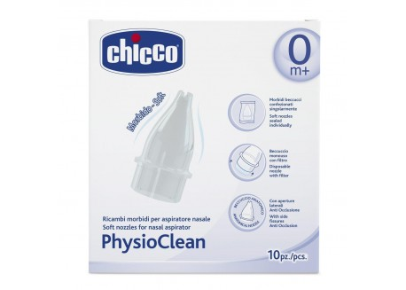 CHICCO Ανταλλακτικά Κιτ Αναρρόφησης για τη μύτη 10τμχ
