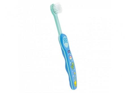 CHICCO Οδοντόβουρτσα Μπλε