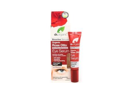 dr.organic Eye Serum με έλαιο Τριαντάφυλλου 15 ml