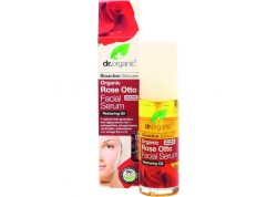 dr.organic Facial Serum με έλαιο Τριαντάφυλλου 30 ml