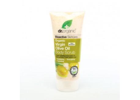 dr.organic Body Scrub με Λάδι Ελιάς 200 ml