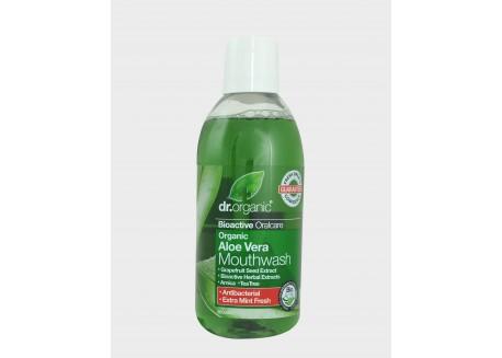 dr.organic Mouthwash Με Βιολογική Αλόη Βέρα 500 ml