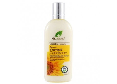 dr.organic Conditioner με Βιταμίνη Ε 265 ml
