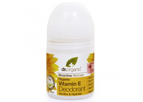 dr.organic Deodorant με Βιταμίνη Ε 50 ml