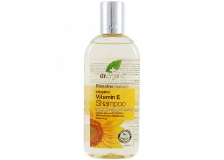 dr.organic Shampoo με Βιταμίνη Ε 265 ml