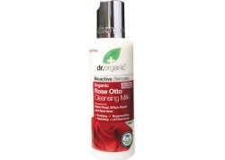 dr.organic Cleansing Milk με έλαιο Τριαντάφυλλου 150 ml