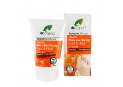 dr.organic Foot & Heel Cream με μέλι μανούκα 125 ml