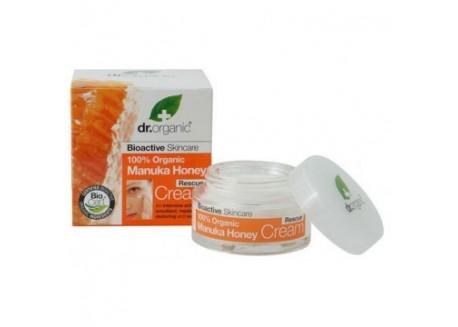 dr.organic Rescue Cream με μέλι μανούκα 50 ml