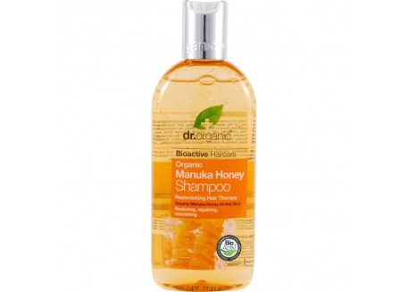 dr.organic Shampoo με μέλι μανούκα 265 ml