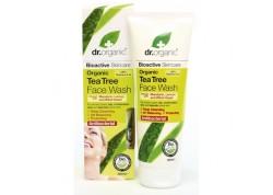 dr.organic Face Wash με Τεϊόδεντρο 200 ml
